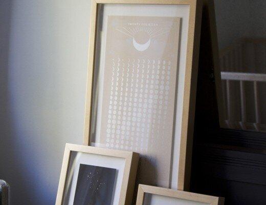 framebridge custom framing reading my tea leaves