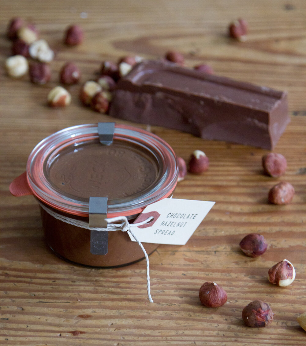 chocolate hazelnut spread | reading my tea leaves