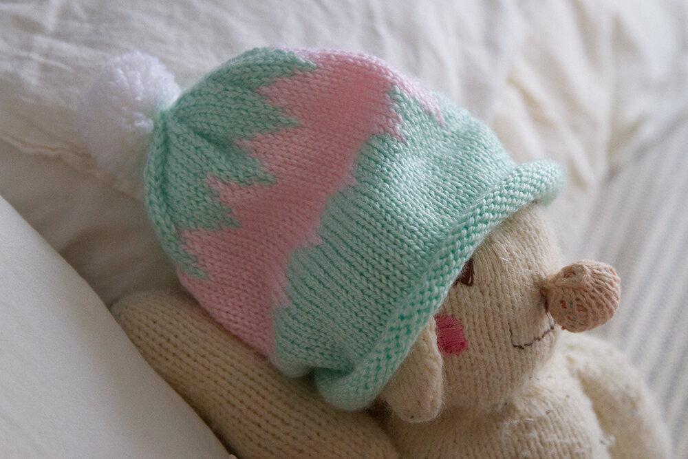 bunny hat   reading my tea leaves