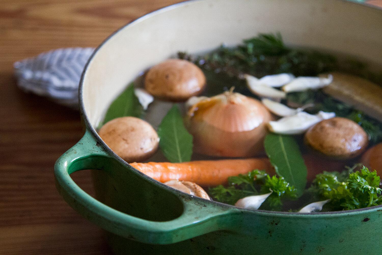 vegetable broth | reading my tea leaves