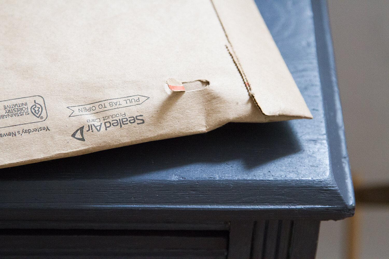 envelope | reading my tea leaves