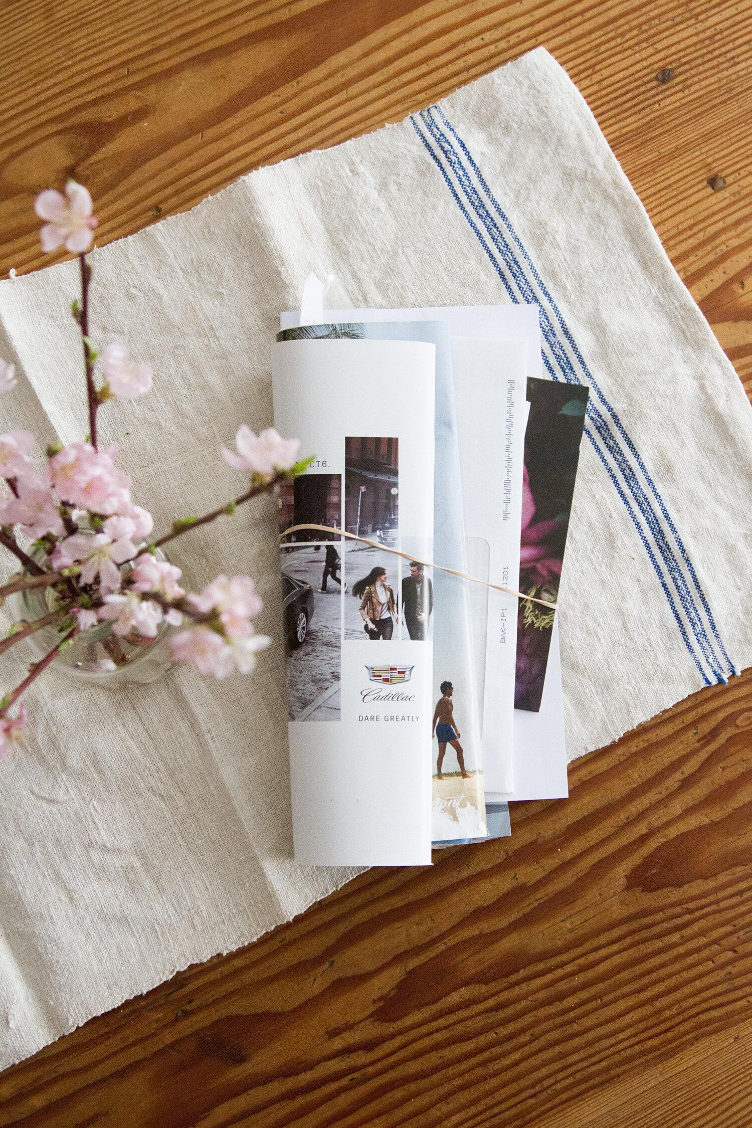 habit shift: junk mail | reading my tea leaves