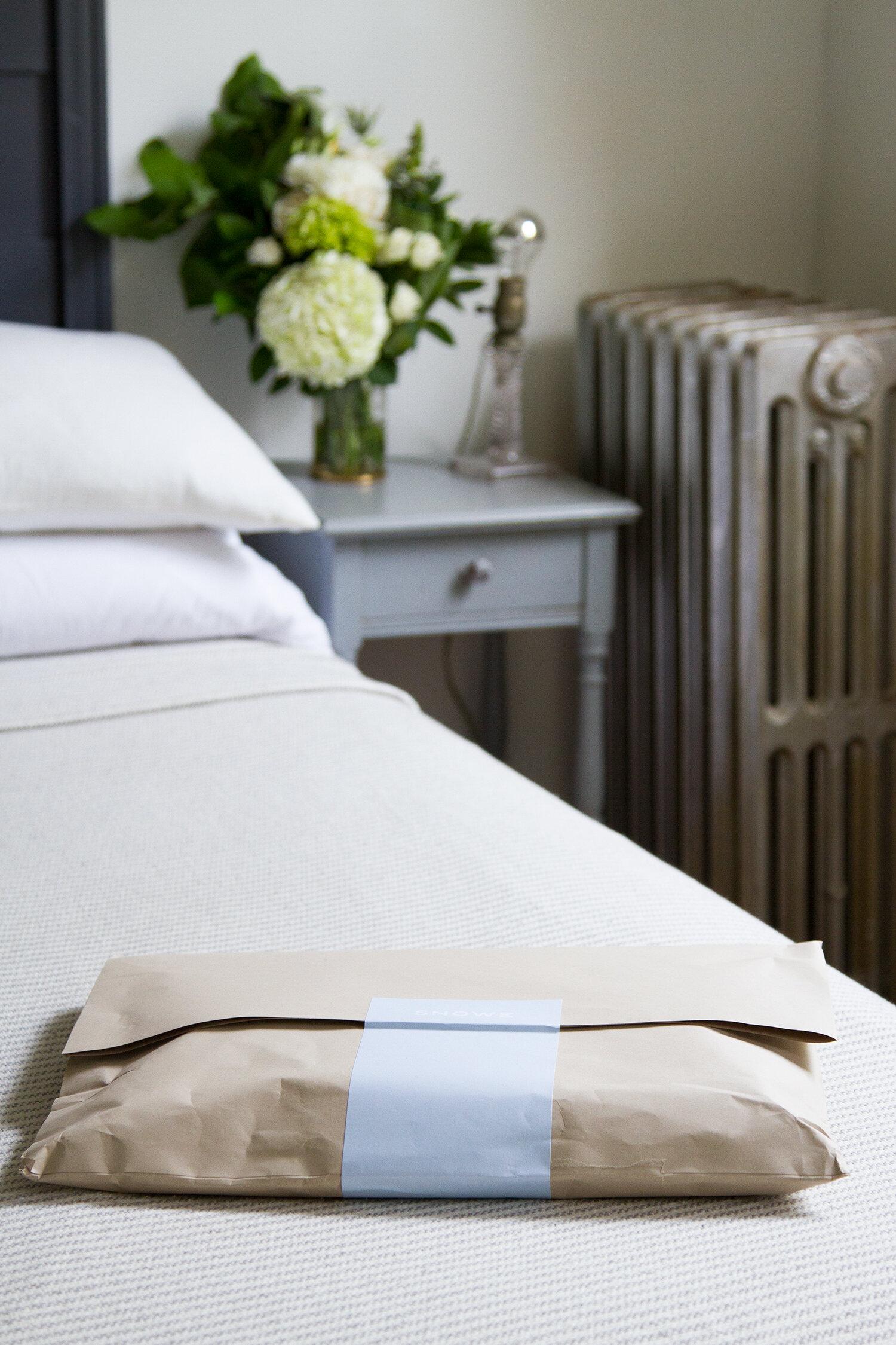 luxury bedding from snowe | reading my tea leaves