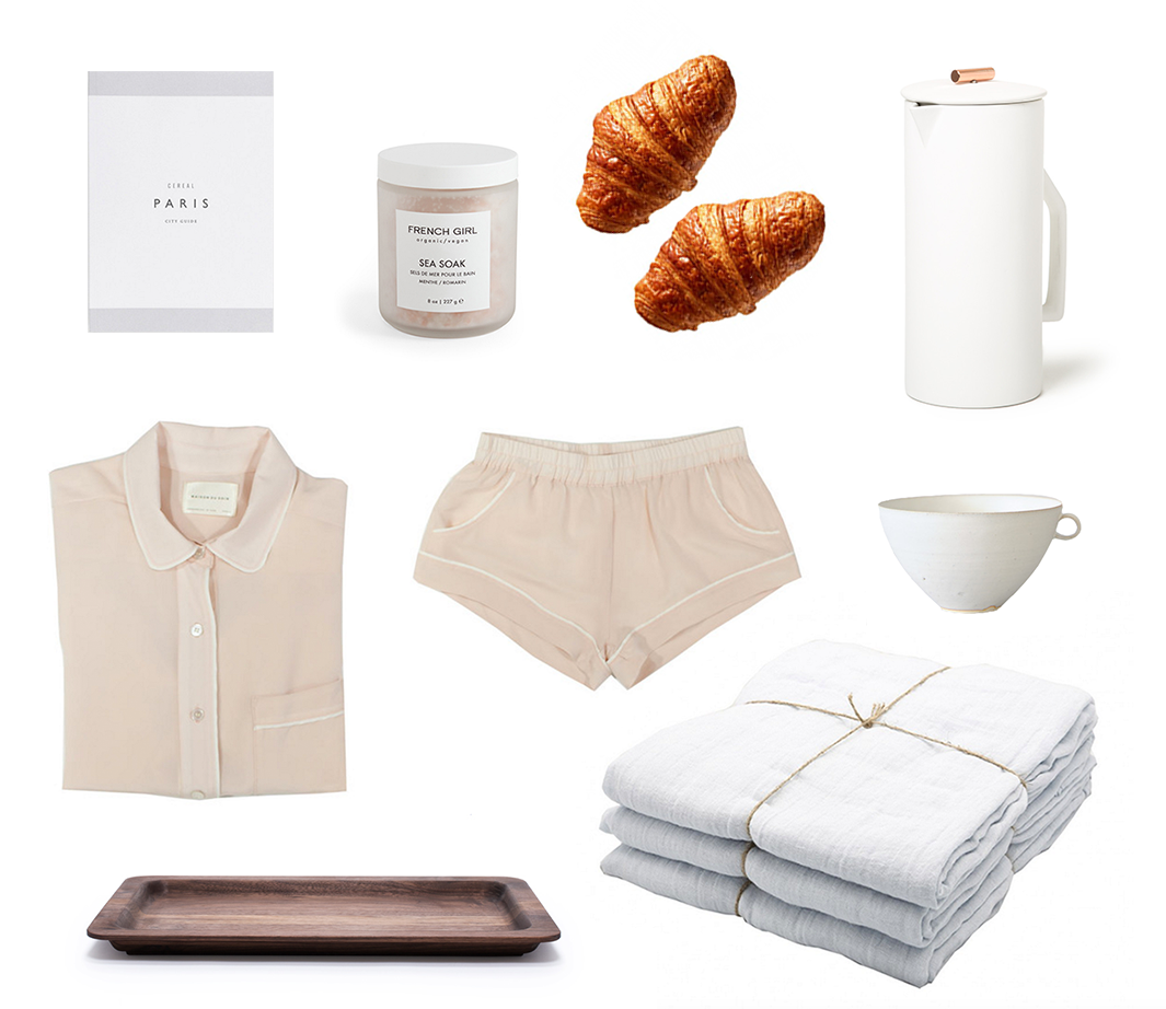 make-believe: paris morning   reading my tea leaves