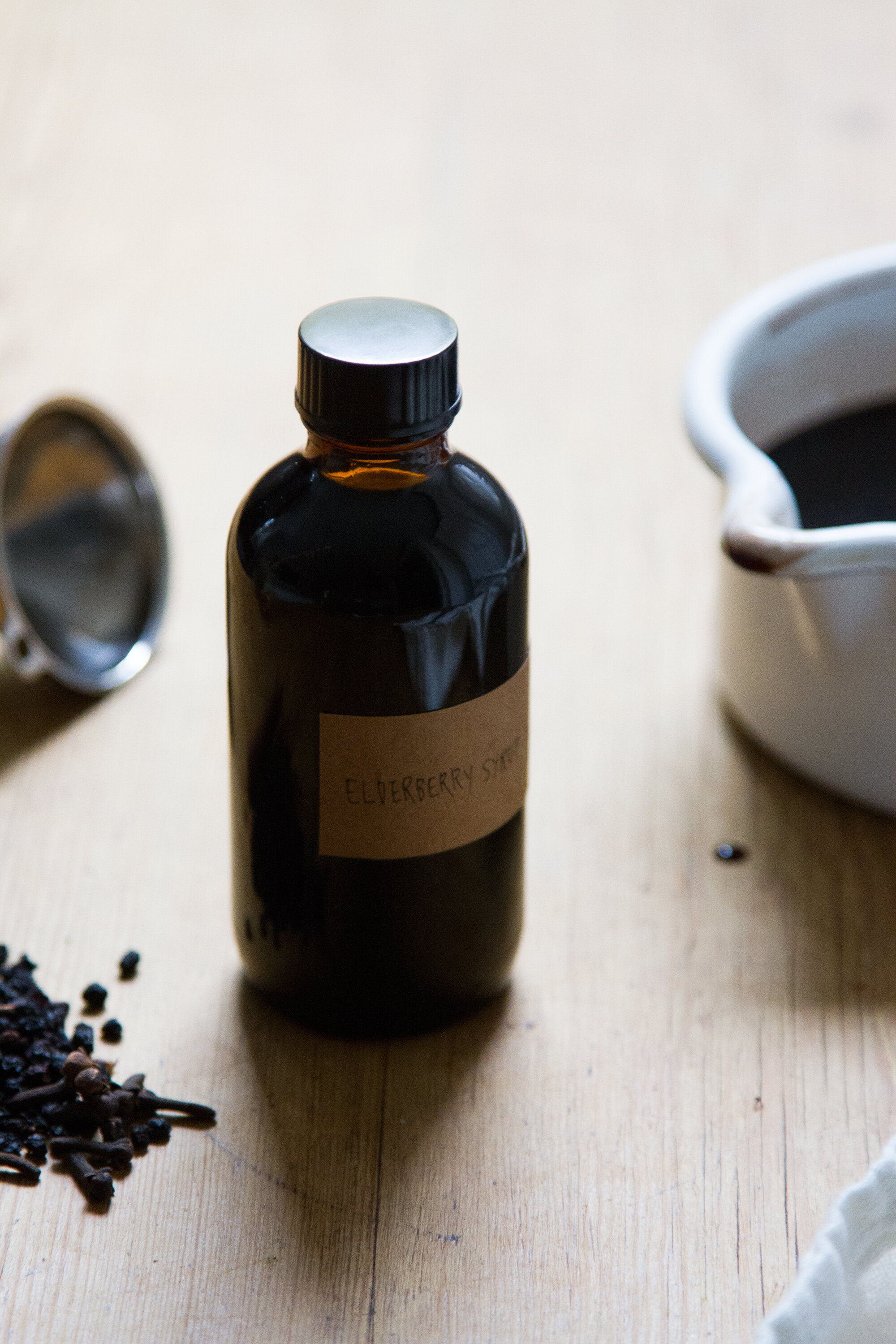 elderberry syrup | reading my tea leaves