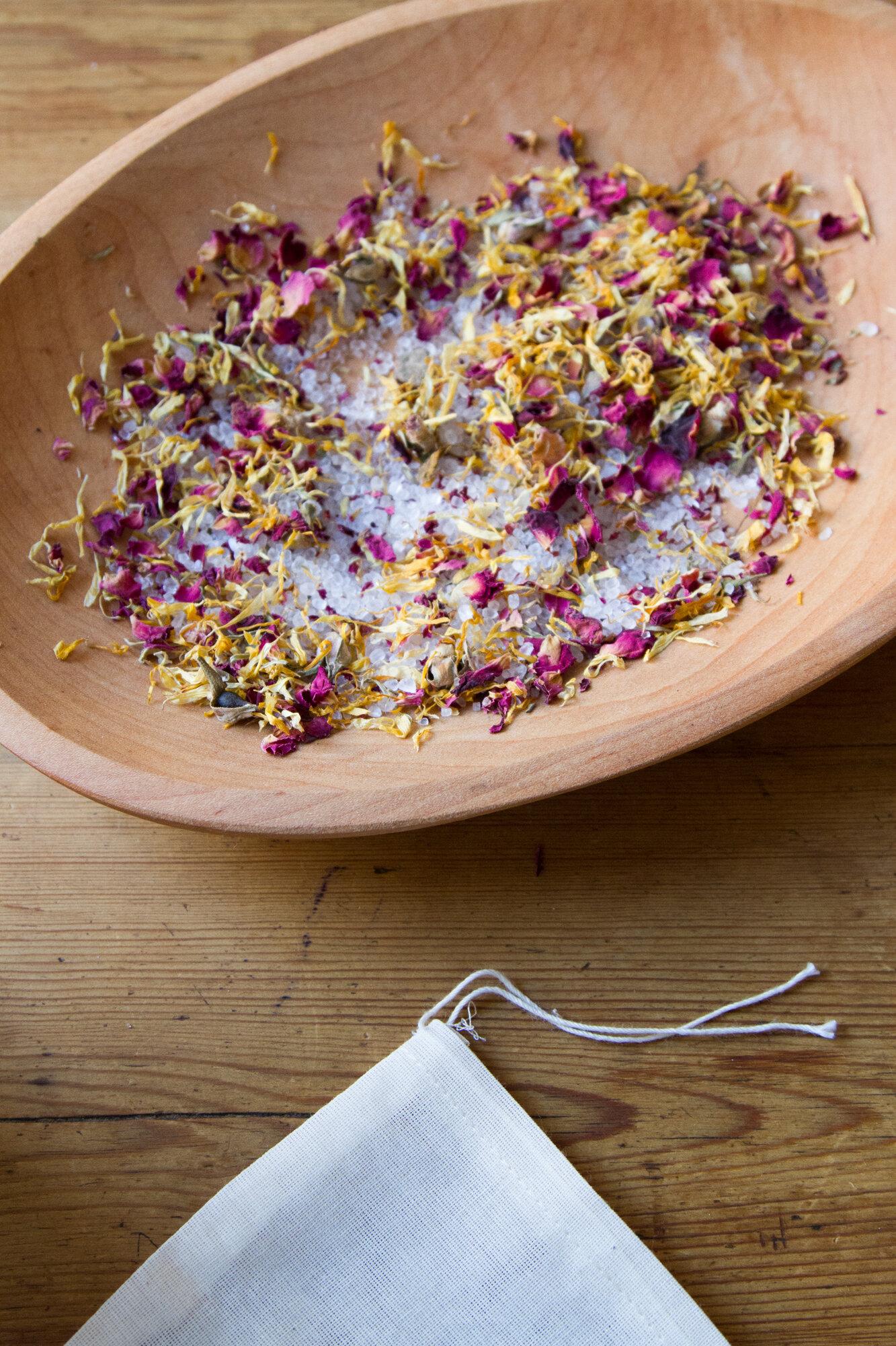 epsom salt soak   reading my tea leaves