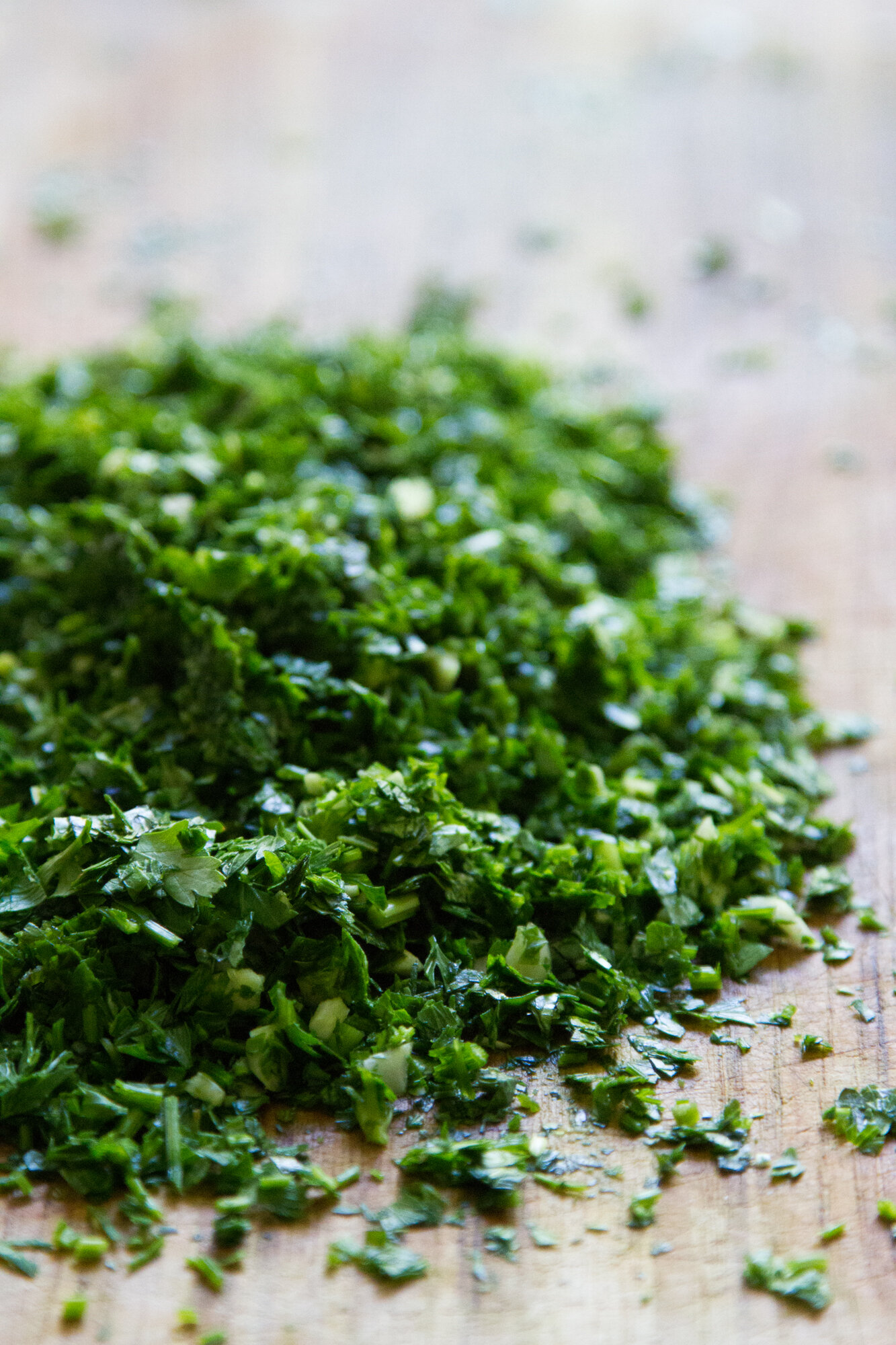 waste not: chimichurri