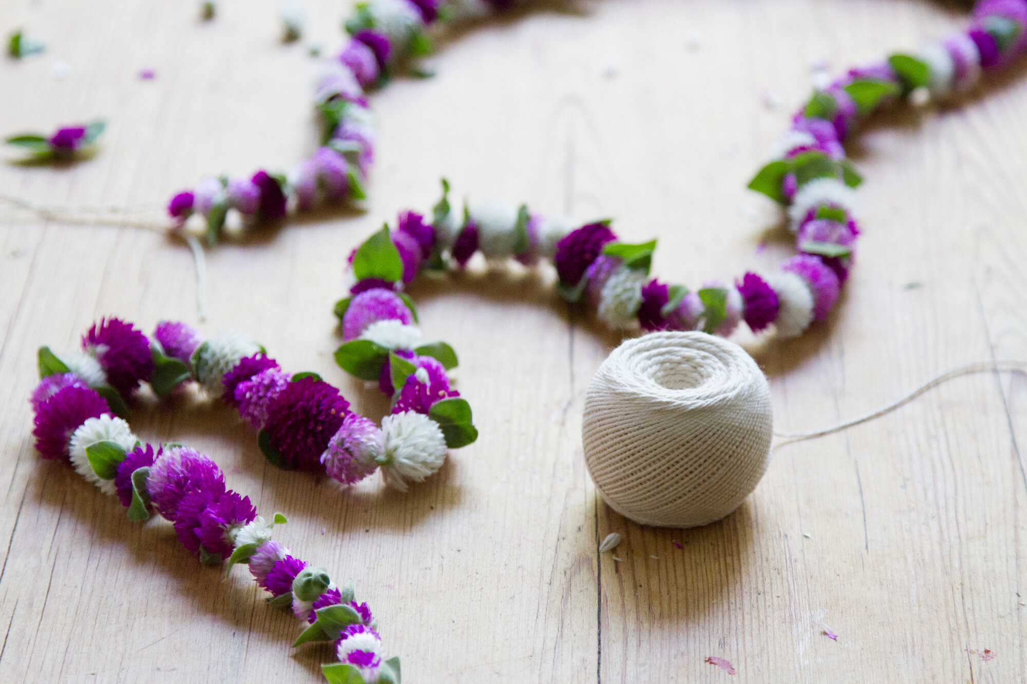Make Your Own Dried Flower Garland Reading My Tea Leaves