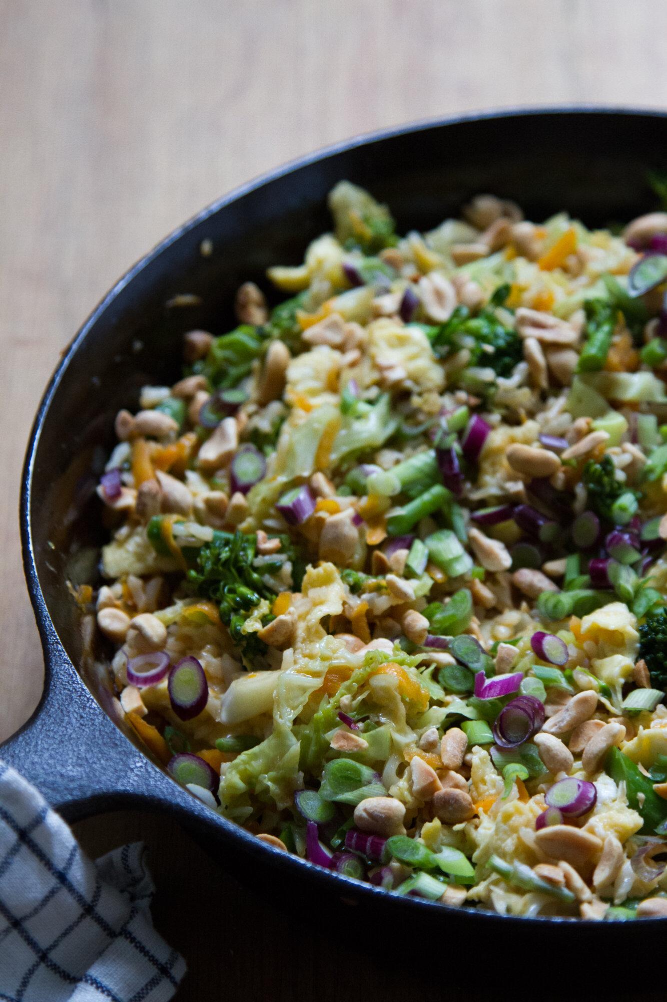 vegetable fried rice | reading my tea leaves