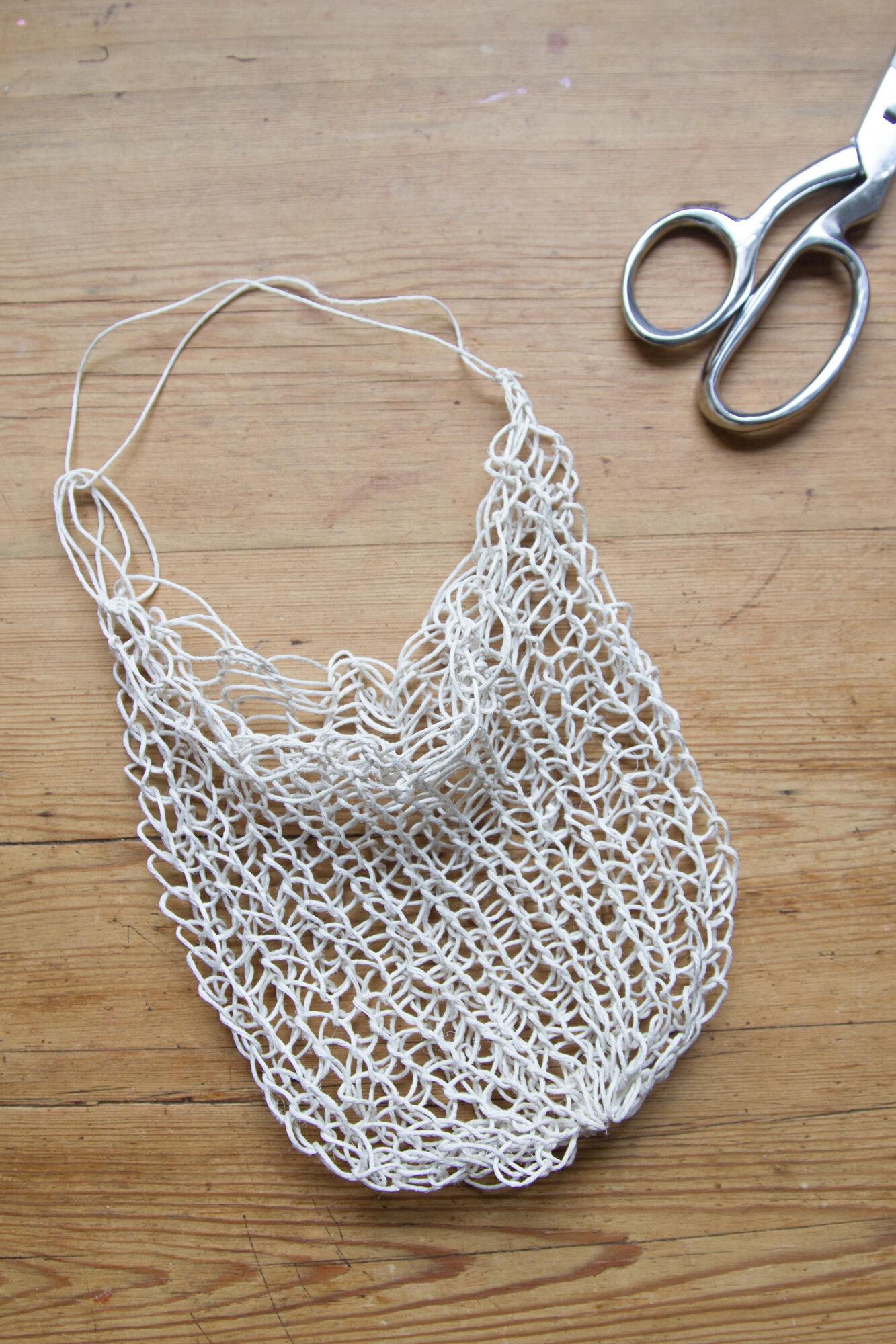 string bag | reading my tea leaves