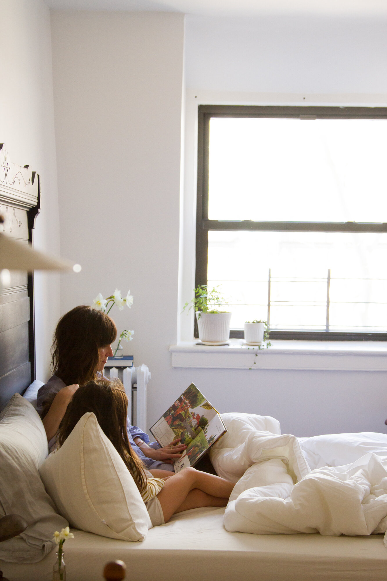 in search of a better night's sleep with a buffy comforter | reading my tea leaves