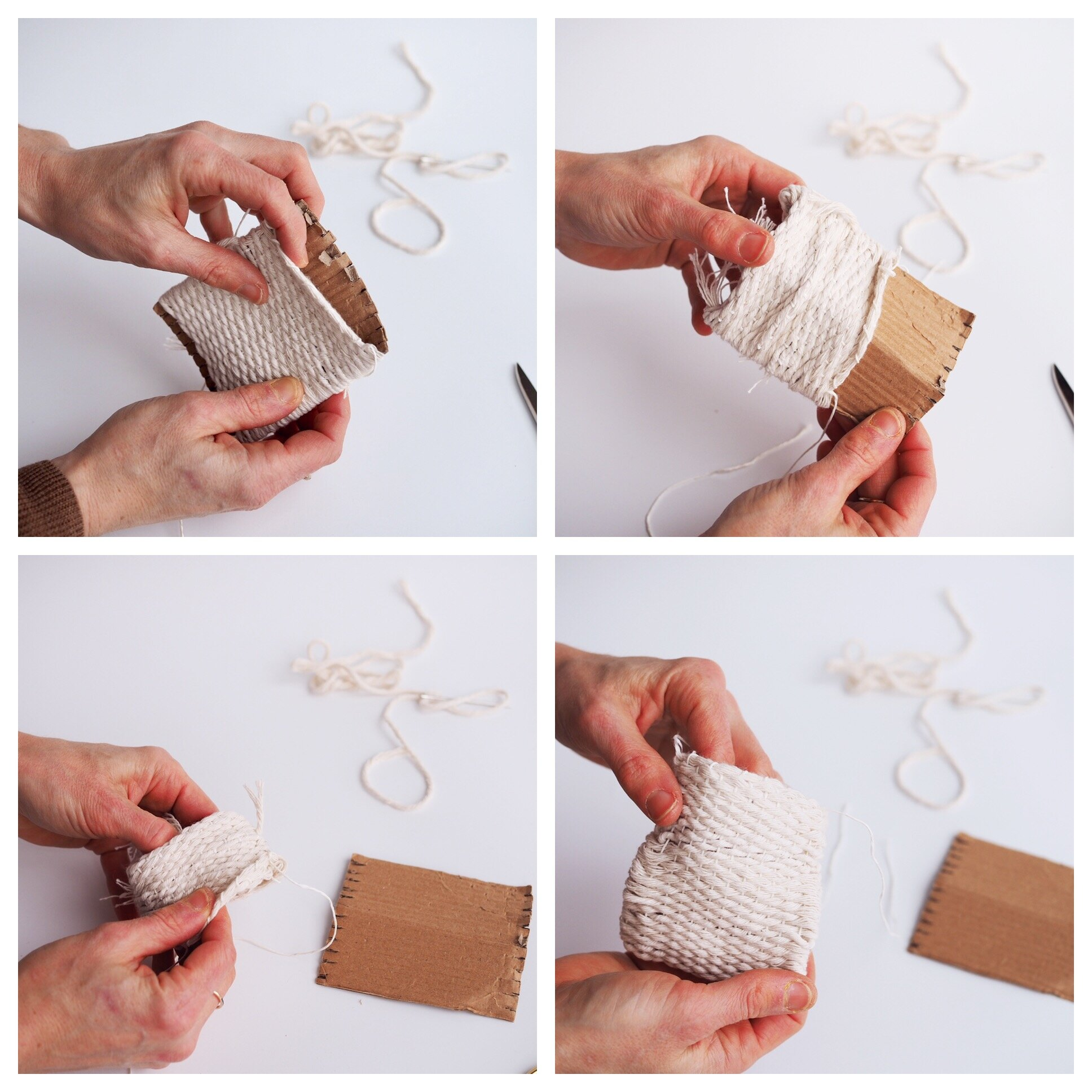 make your own woven pouch | reading my tea leaves