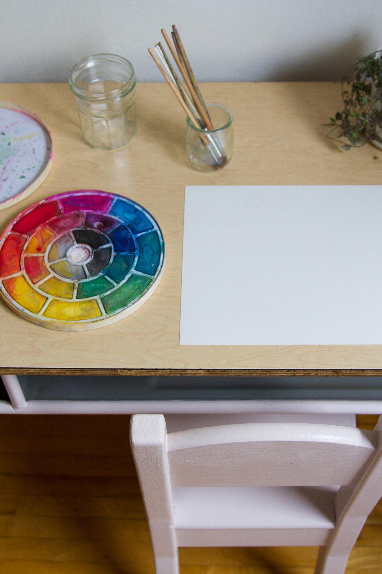 kids art supplies | reading my tea leaves