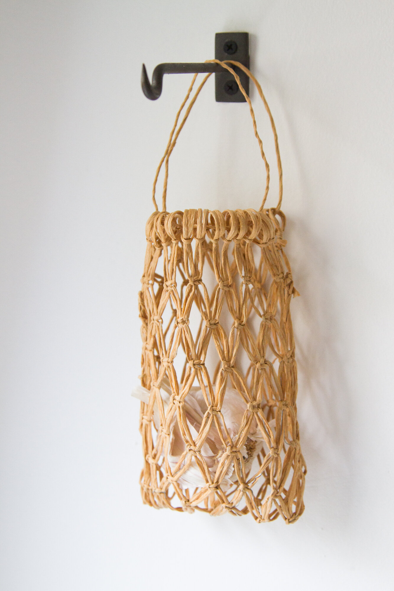 make your own structured macrame bag | reading my tea leaves