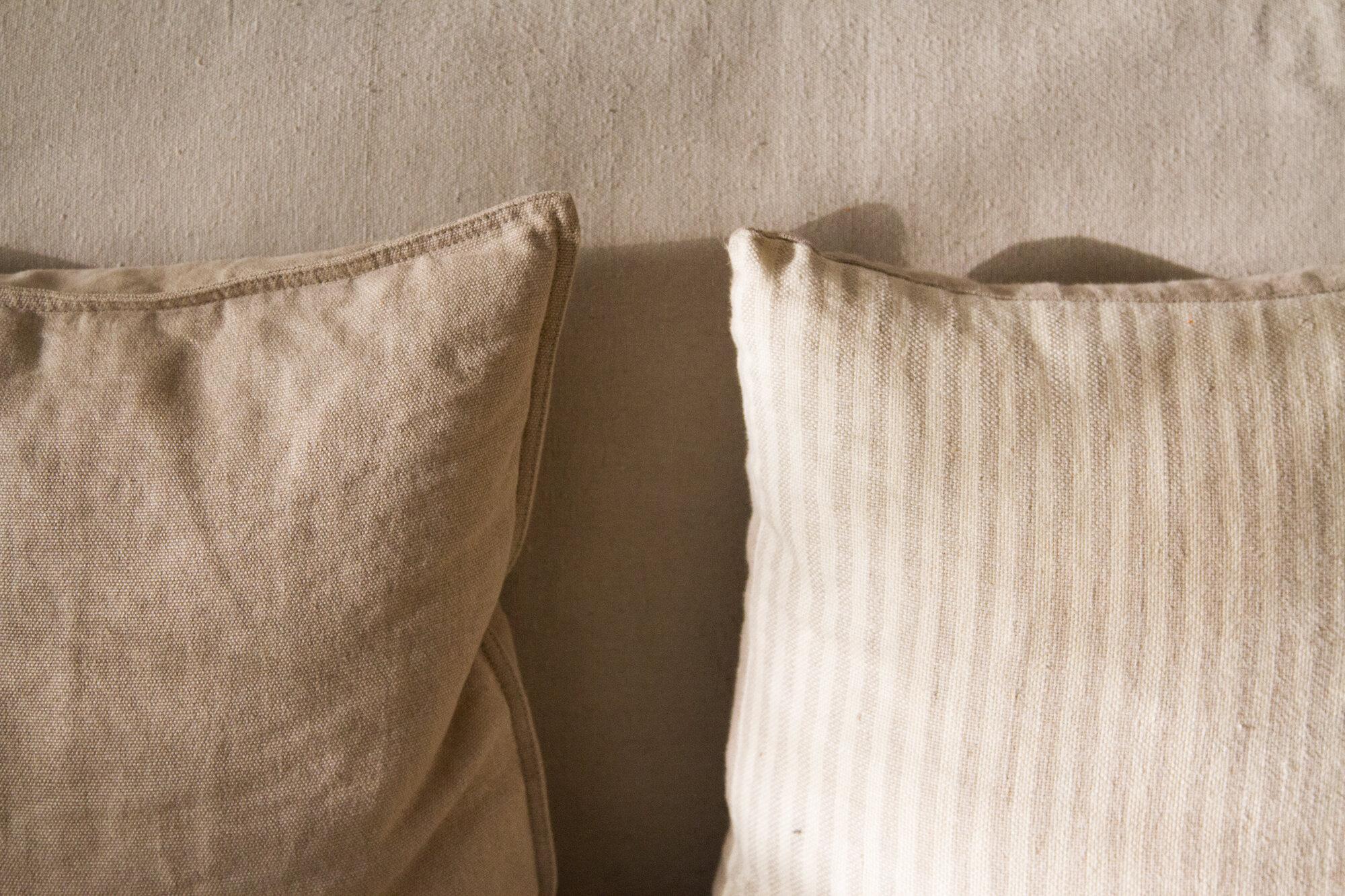 throw pillows | reading my tea leaves