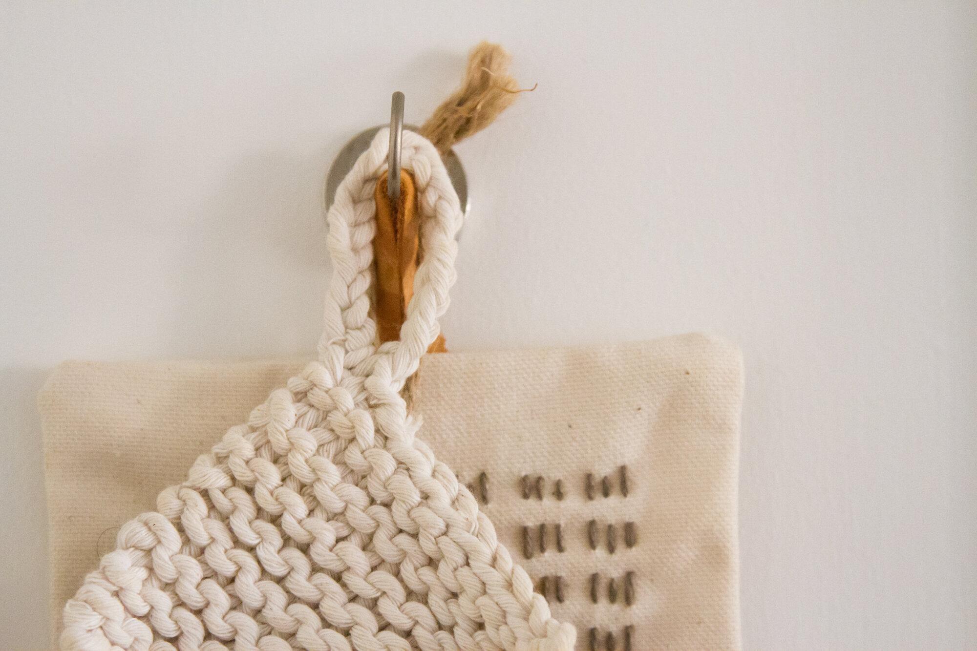 trivets on magnet hook | reading my tea leaves