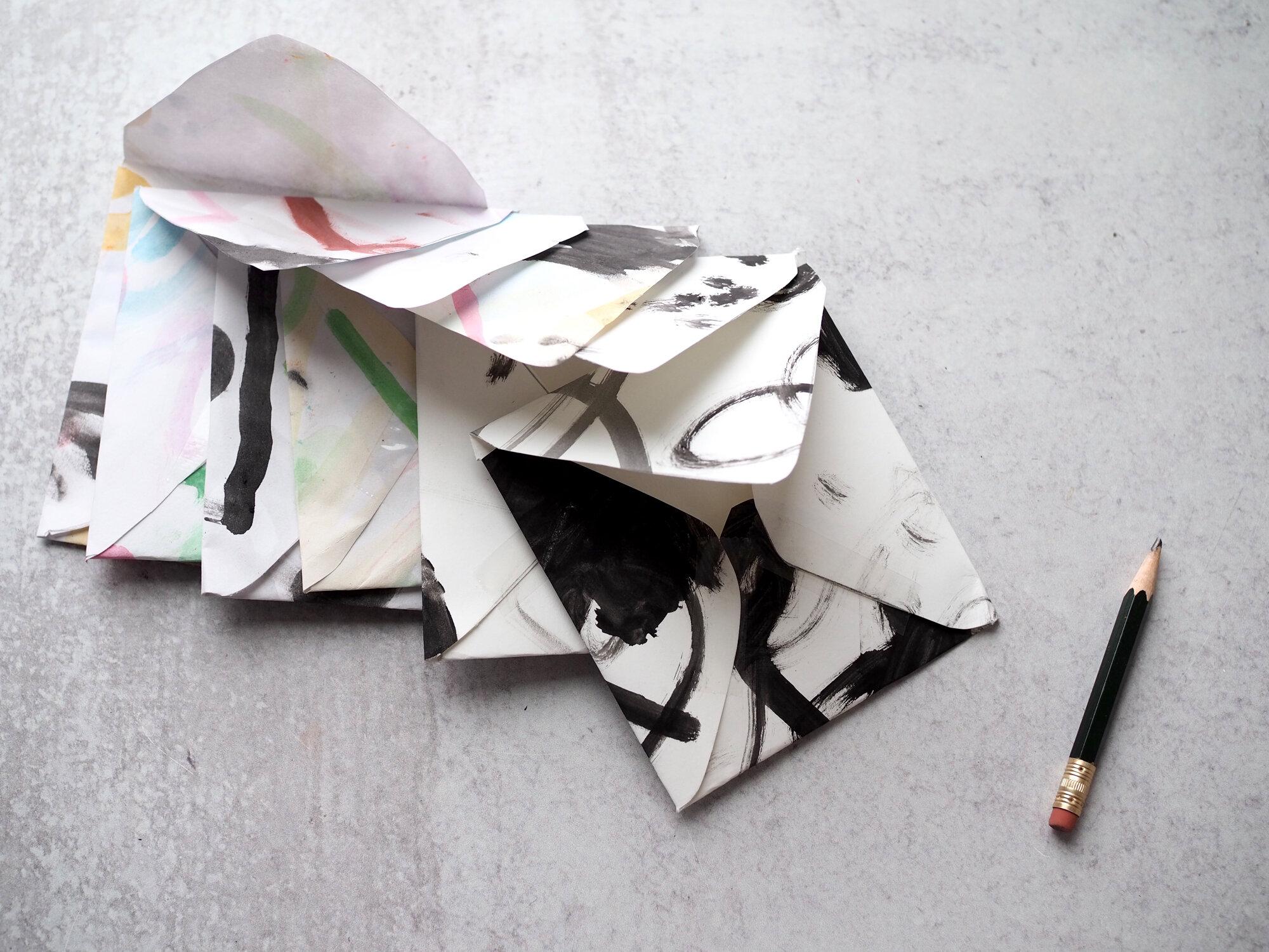 kid art envelopes