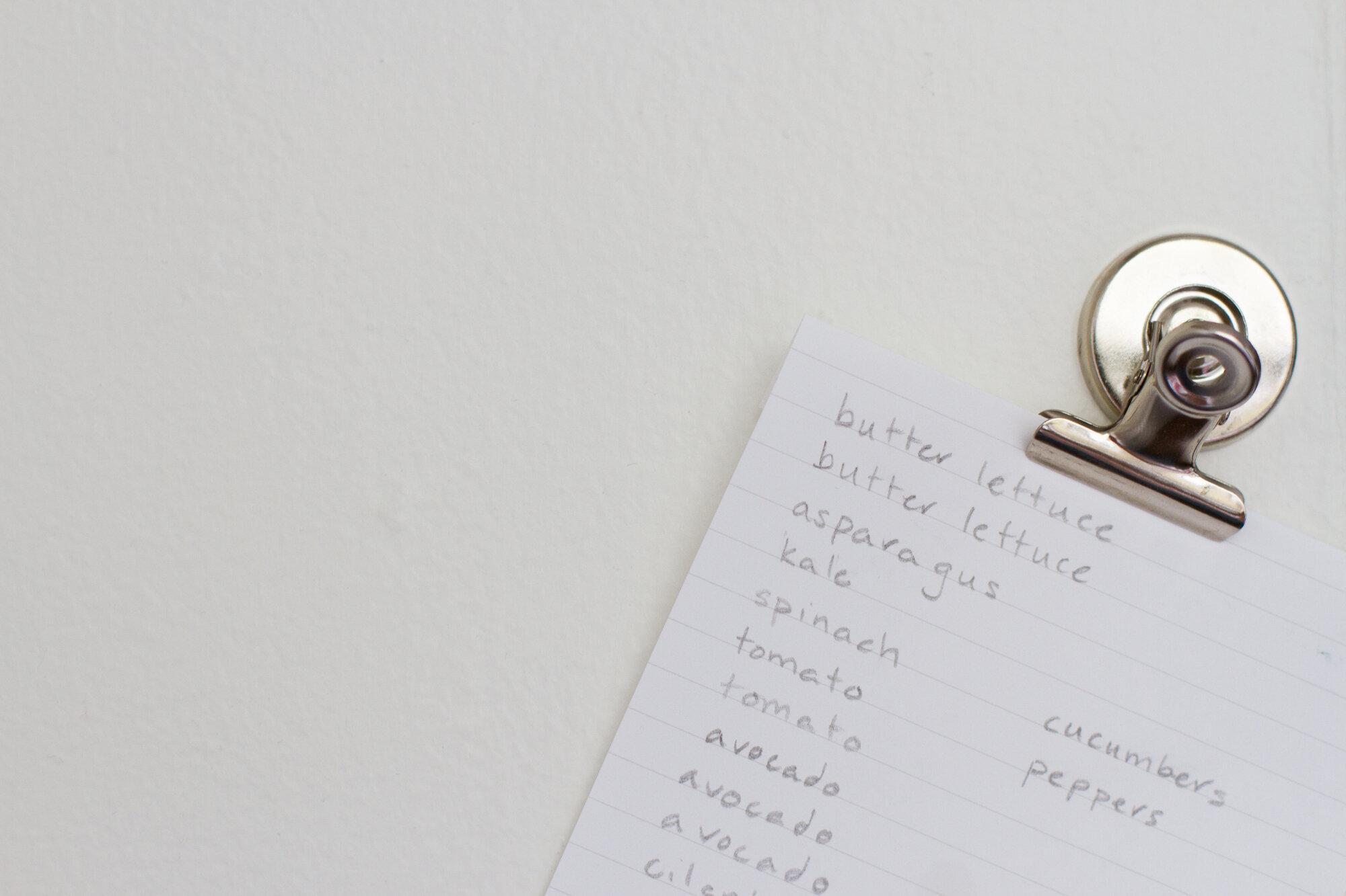 list   reading my tea leaves