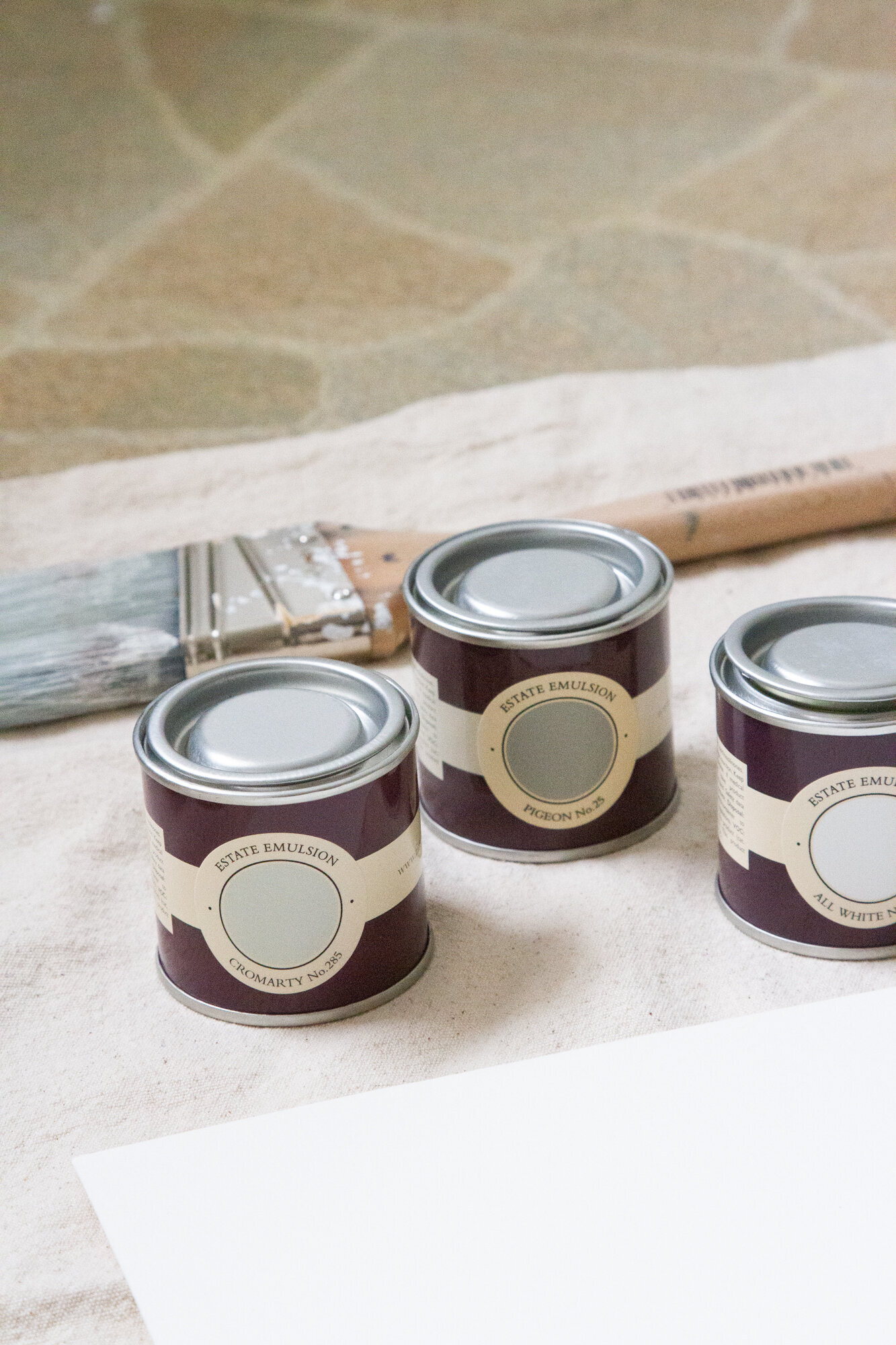 colour consultancy with farrow & ball | reading my tea leaves